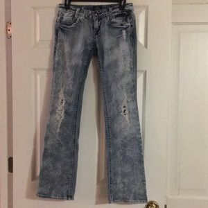 Women's Rerock for Express Distressed Jeans